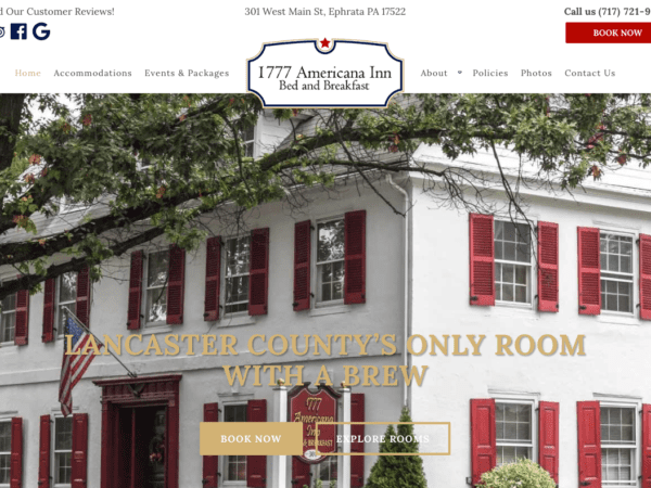 1777 Americana Inn Website